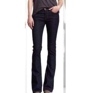 J Brand Lexington Flare Jeans in Pure Wash